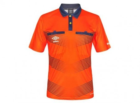 UMBRO Oliver Referee SS Jsy Oransje