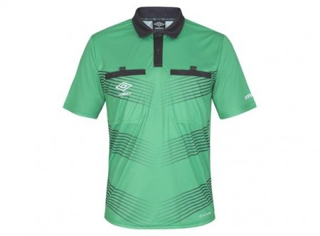 UMBRO Oliver Referee SS Jsy Lime