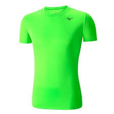 Mizuno DryLite Core T-Shirt Green