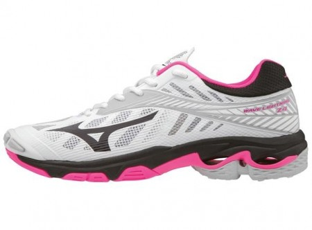 Mizuno Wave Lightning Z4 Lady Hvit/Rosa