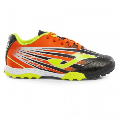 Joma Super Copa Jr. 901 Black-Orange Turf